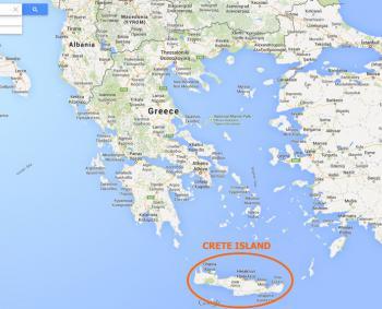 Kreta Landkarte Kreta Archanes Landkarte Kalimera Archanes